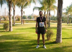Adana Yarı Maratonu bitiş