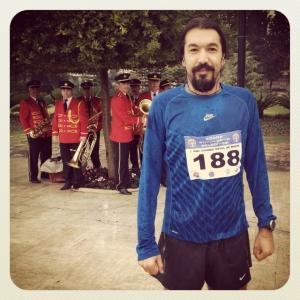 Adana yarı maratonu yine bando ile başladı