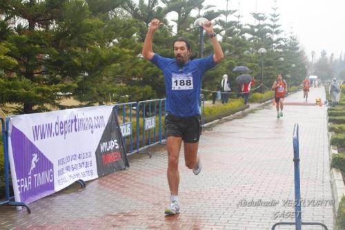 Adana yarı maratonu bitişi
