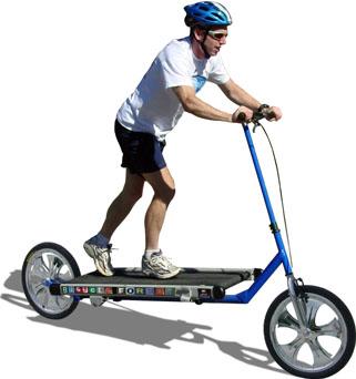 Koşu bantlı bisiklet