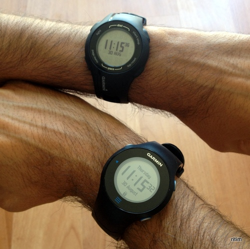 Garmin Forerunner 210 ve 610