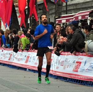 Avrasya maratonu son metreler