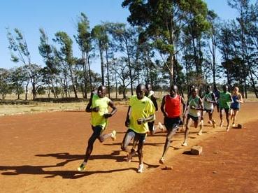 Kenyalı atletler