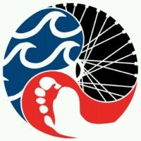 Triatlon ilustrasyon