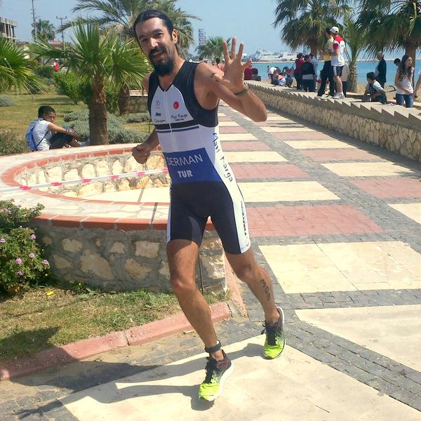 Taşucu triatlonu koşu