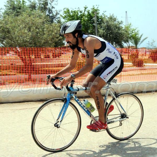 Taşucu triatlonu bisiklet
