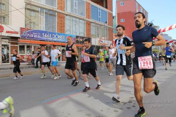 Çayırova yarı maratonu