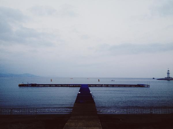 Alanya Triatlonu yüzme start alanı