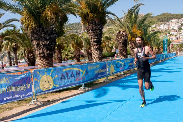 Alanya Triatlonu bitiş