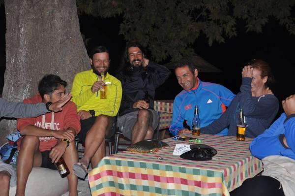Triatlon kampı akşam