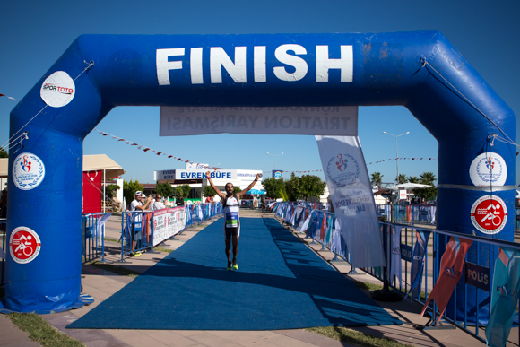 yarı ironman finish