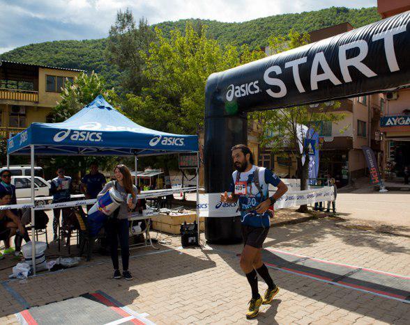 İznik Dağ Maratonu finishi