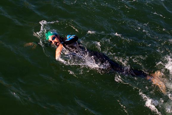 IM Copenhagen yüzme etabı