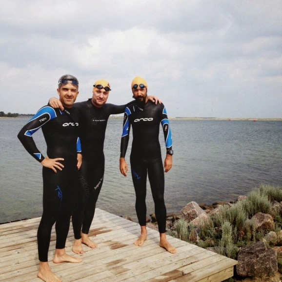 IM Copenhagen öncesi yüzme denemesi