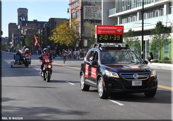 Maraton süre arabası