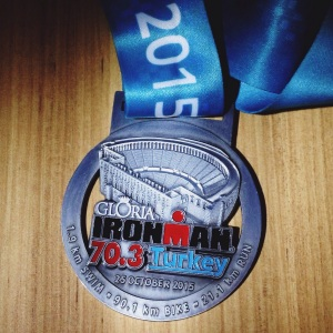Gloria Ironman 70.3 madalya