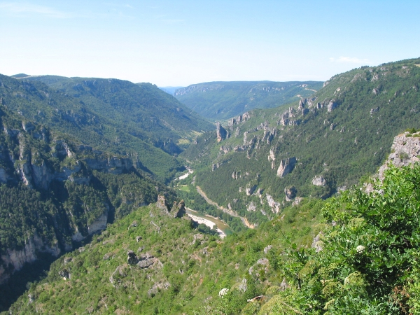 Festival des Templiers yarış parkurlarından - Gorges du Tarn